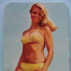 Calendarios: CALENDARIO DE DESNUDOS. AÑO 1971. MUJER SEXY EROTICA. DESNUDA. RUBIA BIKINI NO FOURNIER. Lote 43106411