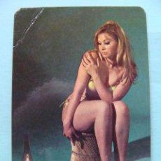 Calendarios: CALENDARIO DE DESNUDOS. AÑO 1971. MUJER SEXY EROTICA. DESNUDA. RUBIA BIKINI CANDIL NO FOURNIER. Lote 43106412