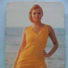 Calendarios: CALENDARIO DE DESNUDOS. AÑO 1971. MUJER SEXY EROTICA. DESNUDA. VESTIDO NARANJA NO FOURNIER. Lote 43106421