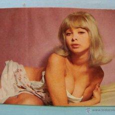 Calendarios: CALENDARIO DE DESNUDOS. AÑO 1974. MUJER SEXY EROTICA. DESNUDA. RUBIA EN CAMA NO FOURNIER. Lote 43106600