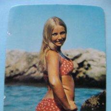 Calendarios: CALENDARIO DE DESNUDOS. AÑO 1974. MUJER SEXY EROTICA. DESNUDA. BIKINI LUNARES, NO FOURNIER. Lote 43106616