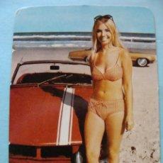 Calendarios: CALENDARIO DE DESNUDOS. AÑO 1974. MUJER SEXY EROTICA. DESNUDA. COCHE DEPORTIVO NO FOURNIER. Lote 43106626