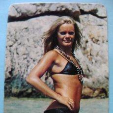 Calendarios: CALENDARIO DE DESNUDOS. AÑO 1974. MUJER SEXY EROTICA. DESNUDA. BIKINI NEGRO NO FOURNIER. Lote 43106628