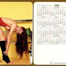 Calendarios: CALENDARIOS BOLSILLO DESNUDOS - CHICA 1990. Lote 150563722