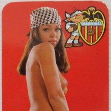 Calendarios: CALENDARIO CHICAS FUTBOL VALENCIA C.F AÑO 1978. Lote 44045517