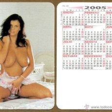 Calendarios: CALENDARIOS BOLSILLO DESNUDOS - CHICA 2005. Lote 45379191