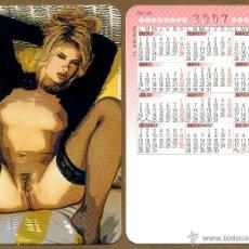 Calendarios: CALENDARIOS BOLSILLO DESNUDOS - CHICA 2007. Lote 222340831