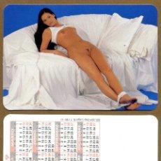 Calendarios: CALENDARIOS BOLSILLO DESNUDOS - CHICA 2009. Lote 222364418