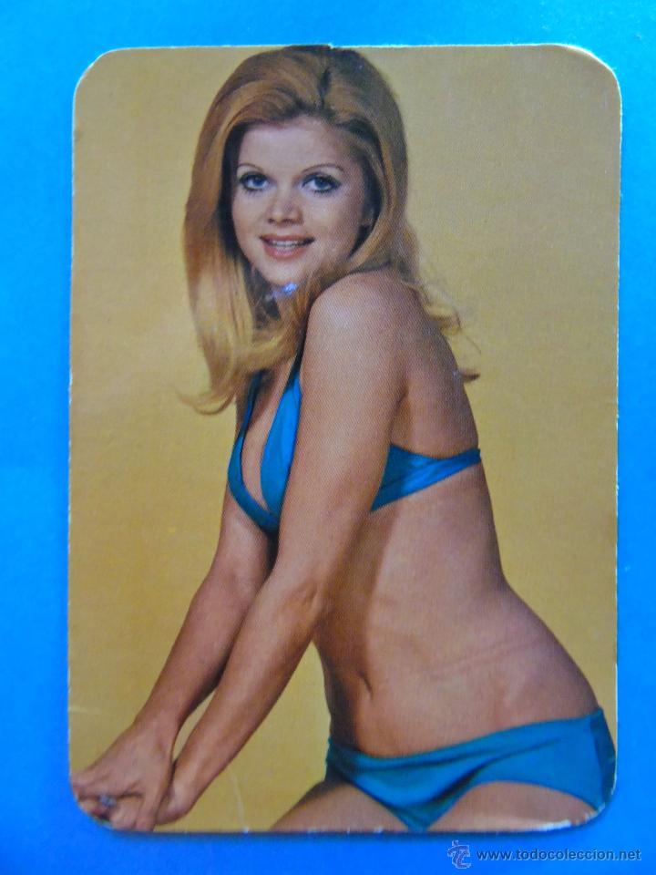 Calendario De Desnudos Año 1973 Pelirroja Bikini Mujer Desnuda Sexy Erotica