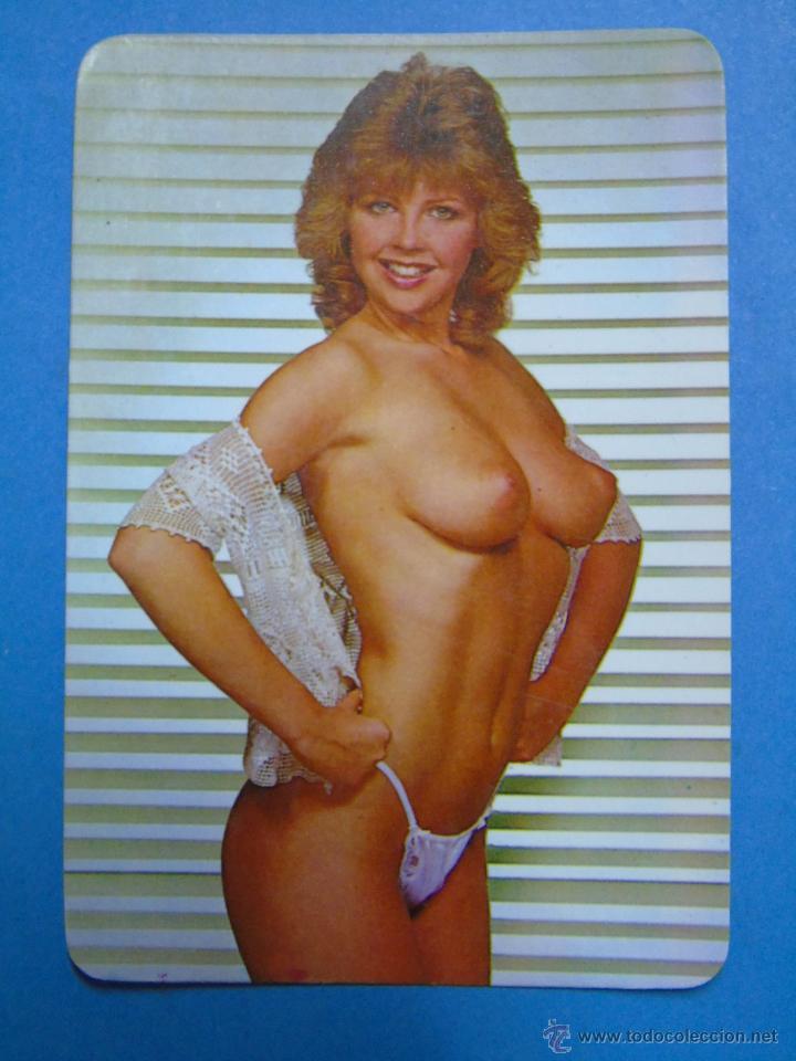 Calendario De Desnudos Año 1987 Pelirroja Topless Mujer Desnuda Sexy Erotica