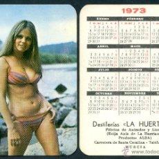 Calendarios: CALENDARIOS BOLSILLO DESNUDOS - CHICA 1973. Lote 47270759
