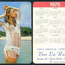 Calendarios: CALENDARIOS BOLSILLO DESNUDOS - CHICA 1975. Lote 47270797