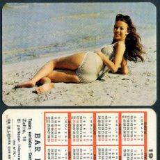 Calendarios: CALENDARIOS BOLSILLO - CHICA 1972. Lote 47271680