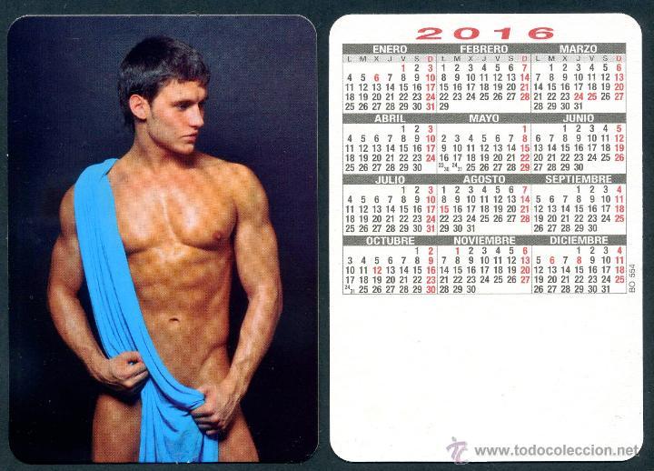 CALENDARIOS BOLSILLO DESNUDOS - CHICO 2016 (Coleccionismo para Adultos - Calendarios)