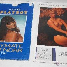 Calendarios: CALENDARIO PLAYBOY 1969 PLAYMATE. Lote 50163092