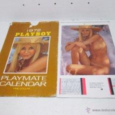 Calendarios: CALENDARIO PLAYBOY 1972 PLAYMATE. Lote 50163153