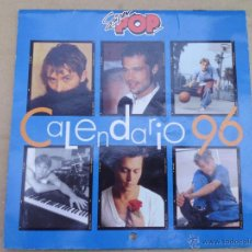 Calendarios: CALENDARIO DE LA REVISTA SUPER POP AÑOS 1996 MIRA LAS FOTOS. Lote 51436037