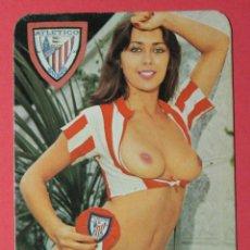 Calendarios: CALENDARIO NO FOURNIER. AÑO 1979. CHICA DE FUTBOL. ATLETIC DE BILBAO.. Lote 54420503