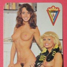 Calendarios: CALENDARIO NO FOURNIER. AÑO 1979. CHICA DE FUTBOL. CADIZ CLUB DE FUTBOL.. Lote 54420532