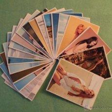 Calendarios: CALENDARIO DE BOLSILLO 1975 - 20 UDS. DE SEÑORITAS DE ESA ÉPOCA - MIRAR FOTOS.. Lote 54723897