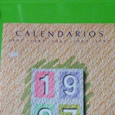 Calendarios: 2 CATÁLOGOS COMPLETOS CALENDARIOS DE BOLSILLO AÑO 1997 UNO VARIADO Y EL DÍPTICO ERÓTICO COLECCIÓN. Lote 57050456