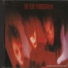 Calendarios: THE CURE - PORNOGRAPHY - 1ST PRS CD GERMANY 1982 FICTION RECORDS 827 688 2. Lote 57090001