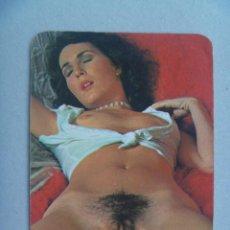 Calendarios: CALENDARIO DE BOLSILLO EROTICO CON MOZA , 1979. BASTANTE GUARRILLO. Lote 80527717