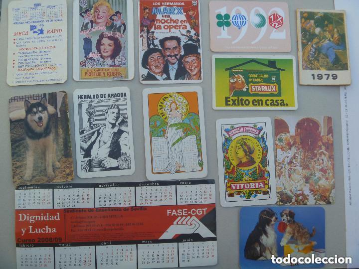 Calendarios: LOTE DE 100 CALENDARIOS DE BOLSILLO : FOURNIER, EROTICOS , RELIGIOSOS, ETC - Foto 6 - 78354081