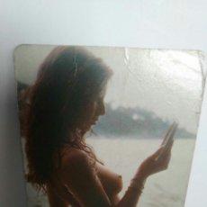 Calendarios: CALENDARIO DE BOLSILLO DESNUDO FEMENINO EROTICO AÑO 1979 CON PUBLICIDAD. Lote 85225635