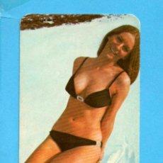 Calendarios: CALENDARIO DE AÑO 1973 DE BONITA SEÑORITA EROTICO PUBLICIDAD DE CAFETERIA DE BARCELONA. Lote 87634420