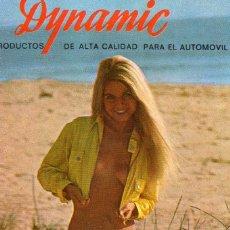 Calendriers: CALENDARIO DYNAMIC AÑO 1972. Lote 104730306