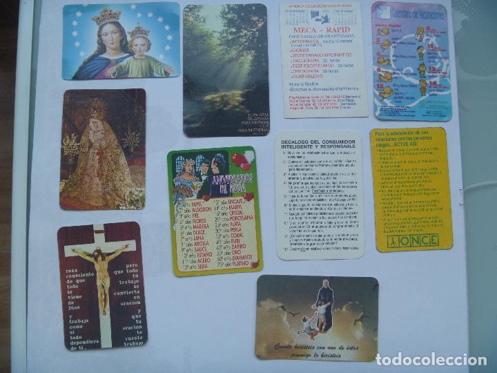 Calendarios: LOTE DE 100 CALENDARIOS DE BOLSILLO : FOURNIER, EROTICOS , RELIGIOSOS, ETC - Foto 8 - 78354081