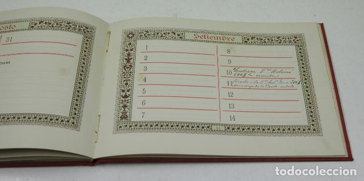 Calendarios: Calendario para 1888, almanaques americanos, barcelona. 22,3x15,5cm - Foto 2 - 111320643