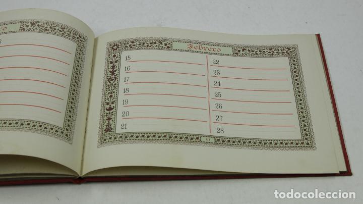 Calendarios: Calendario para 1888, almanaques americanos, barcelona. 22,3x15,5cm - Foto 4 - 111320643