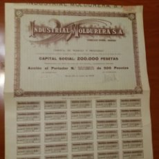 Calendarios: ACCIÓN INDUSTRIAL MOLDURERA S.A. FABRICA DE MARCOS Y MOLDURAS. JUNIO DE 1930. VALOR 500 PTS.. Lote 115925746