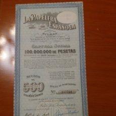Calendarios: ACCIÓN LA PAPELERA ESPAÑOLA. BILBAO, 1941. Lote 115926892