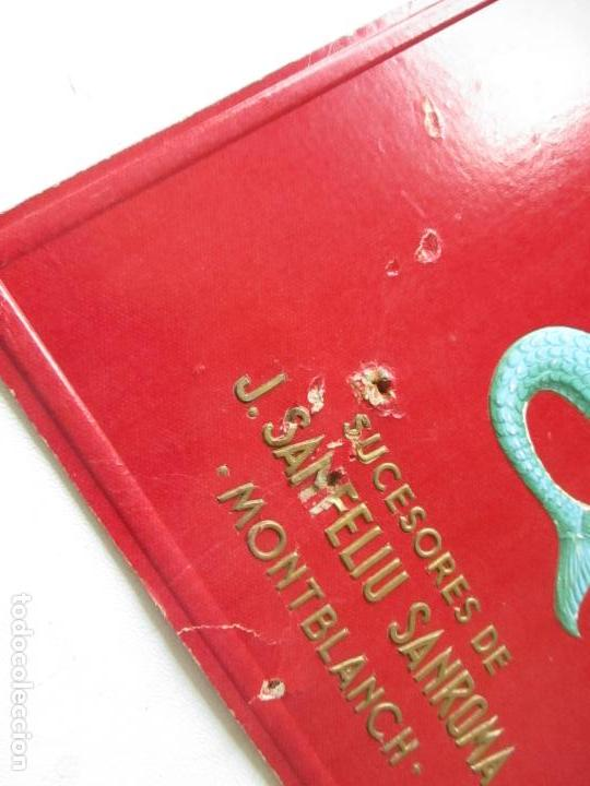 Calendarios: CALENDARIO DE CARTÓN TROQUELADO DE: ARTÍCULOS DE GOMA B.B.B.- SIRENA-S/F.- SUCESORES DE J. SANFELIU - Foto 2 - 119128359