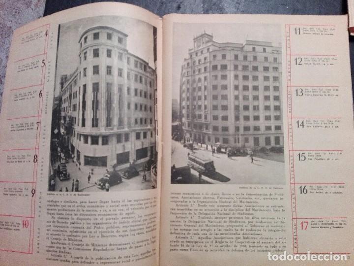 Calendarios: Antiguo Almanaque sindical 1957 - Foto 3 - 120771127