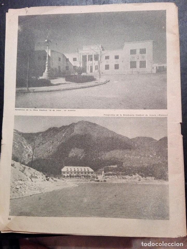 Calendarios: Antiguo Almanaque sindical 1957 - Foto 4 - 120771127