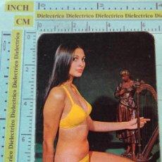Calendarios: CALENDARIO DE BOLSILLO. AÑO 1974. MUJERES DESNUDOS SEXY EROTICA. DISCOTECA YUMA MÁLAGA NO FOURNIER. Lote 126029419