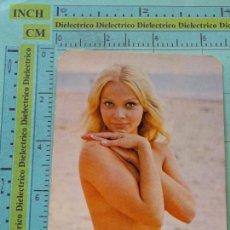 Calendarios: CALENDARIO DE BOLSILLO. AÑO 1974. MUJERES DESNUDOS SEXY EROTICA. DISCOTECA YUMA MÁLAGA NO FOURNIER. Lote 126029779