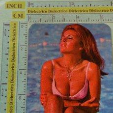 Calendarios: CALENDARIO DE BOLSILLO. AÑO 1974. MUJERES DESNUDOS SEXY EROTICA. DISCOTECA YUMA MÁLAGA NO FOURNIER. Lote 126029819