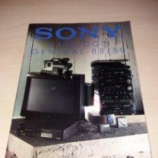 Calendarios: CATÁLOGO GRAL. 88/89 - VIDEOS BETA - WALKMAN - MSX - HI-FI, ETC.... Lote 126259420