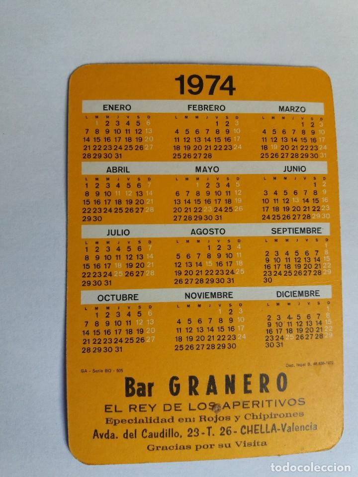 Calendario Serie B 18 19.Calendario De Bolsillo Ano 1974 Chica Eroti Sold