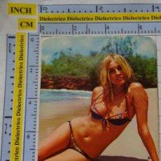 Calendarios: CALENDARIO DE BOLSILLO. DESNUDOS SEXY EROTICA. AÑO 1973. MUJER BIKINI. PUBLICIDAD ALICANTE NO FOURNI. Lote 137148958