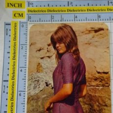 Calendarios: CALENDARIO DE BOLSILLO. DESNUDOS SEXY EROTICA. AÑO 1973. MUJER BIKINI. PUBLICIDAD ALICANTE NO FOURNI. Lote 137149034