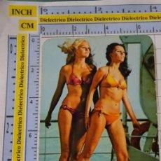 Calendarios: CALENDARIO DE BOLSILLO. DESNUDOS SEXY EROTICA. AÑO 1973. MUJER BIKINI. PUBLI ALICANTE NO FOURNIER. Lote 137149282