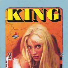 Calendriers: CALENDARIO EROTICO EXTRANJERO 2000 - REVISTA KING - CHICA RUBIA. Lote 152680274