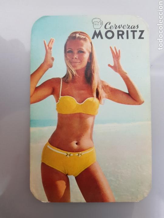 Calendarios: LOTE 5 CALENDARIOS BOLSILLO 1969 CERVEZAS MORITZ - Foto 3 - 145210794