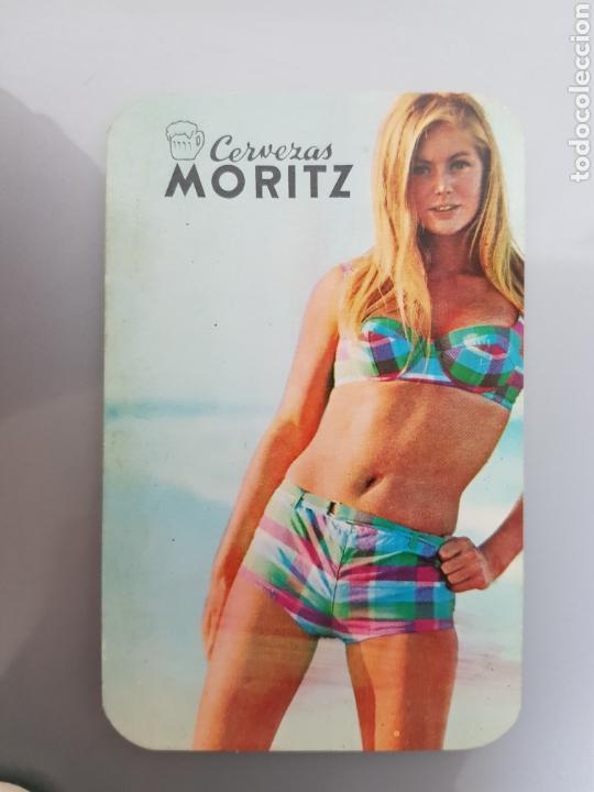 Calendarios: LOTE 5 CALENDARIOS BOLSILLO 1969 CERVEZAS MORITZ - Foto 4 - 145210794